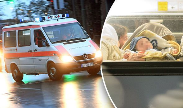 Rampaging Muslim ?Refugees? KICK WHITE BABY On Bus, Then Attack Paramedics Trying To Treat Child