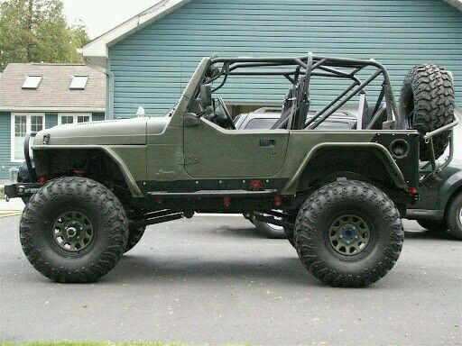 Olive Drab Jeep Yj Www Imgkid Com The Image Kid Has It