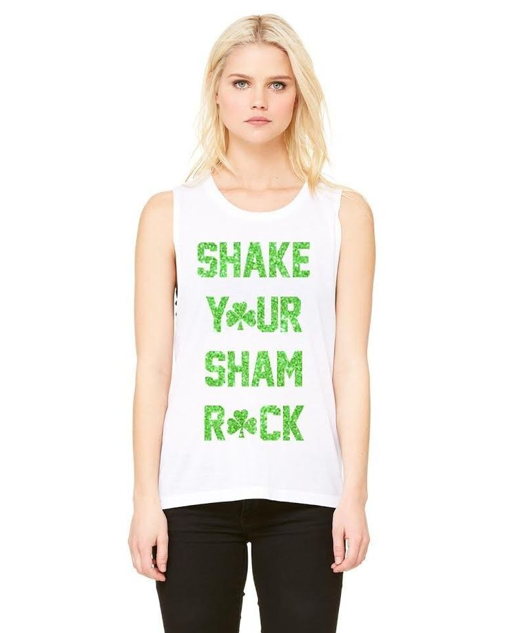 Fancy | Shake Your Sham Rock Ladies Muscle Tank