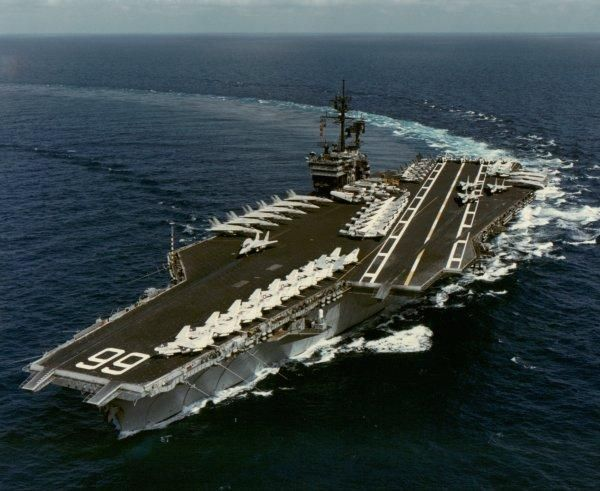 USS America- Norfolk, VA...(got to go out on it for a family day when we were stationed there)