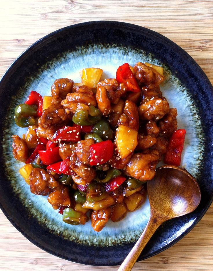 POLLO AGRIDULCE (Sweet & Sour Chicken by Sachie) #RecetasChinas #ChineseRecipes