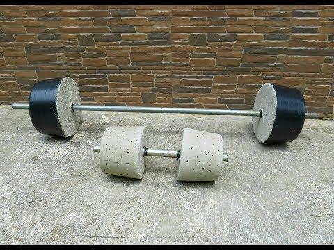 Pesas Caseras Para Hacer Ejercicio En Casa Ideatronic Youtube Diy Gym Equipment Homemade Gym Equipment Diy Home Gym
