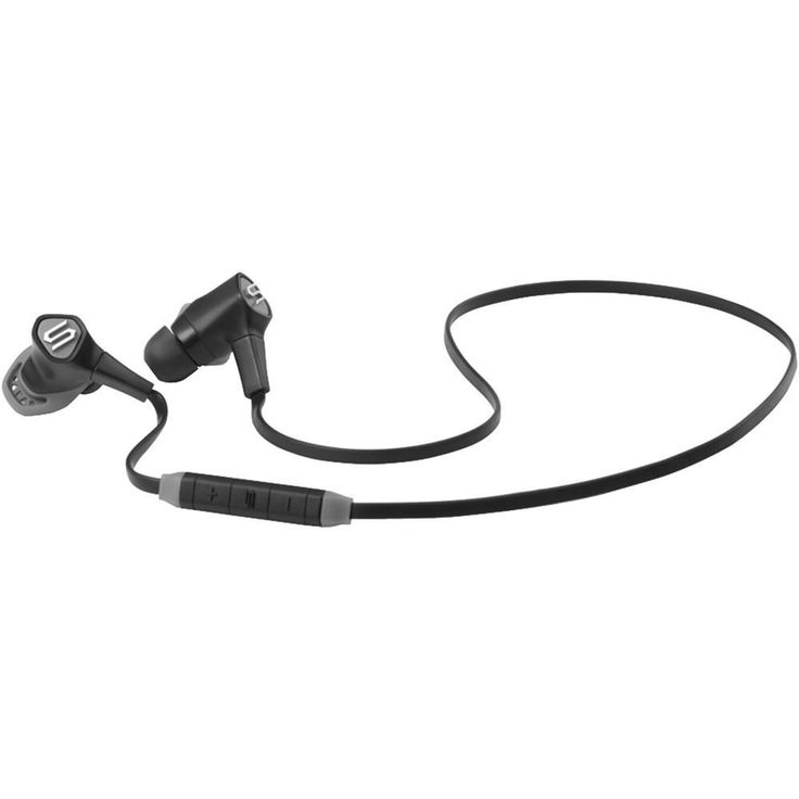 SOUL 81970460 Run Free Pro Wireless Bluetooth(R) In-Ear Headphones with Microphone (Storm Black)