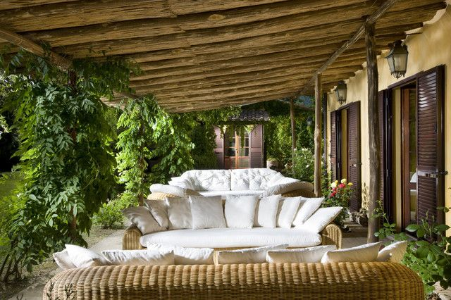 Rustic seating areas for your garden | Ecotek