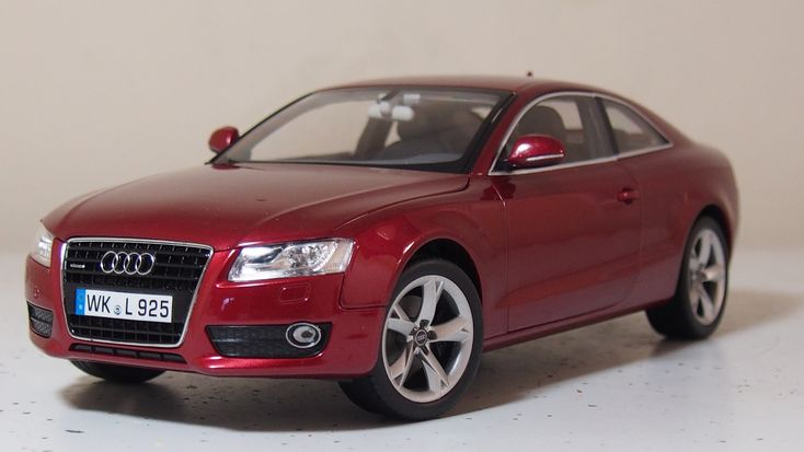 Audi A5 coupe  by norev 1:18 scale boxed