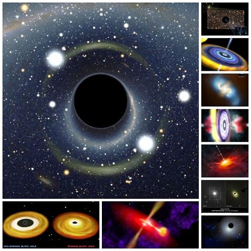 The Strangest Black Holes in the Universe Black holes are gigantic cosmic monsters, exotic objects whose gravity is so strong that not even light can escape their clutches. Black holes come in a wide variety of forms, from small stellar-mass bodies to the supermassive beasts that reside at the hearts of galaxies. Here are 10 of the most extreme black holes, from the smallest to the largest and from cannibals to rogues. FIRST UP: The biggest and baddest See Slideshow