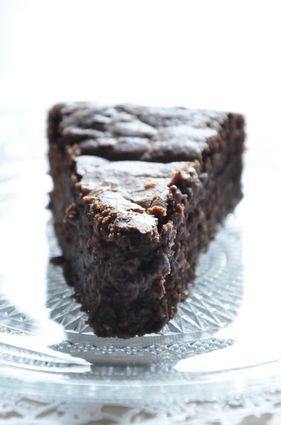 Moelleux au chocolat & Petit Beurre Lu : la recette facile N'hésitez pas à doubler  la quantité de Petits Lu et de limiter la cuisson au four à 12-13 mn.