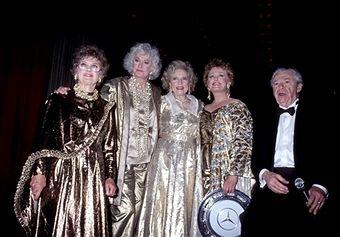 Estelle Getty, Bea Arthur, Betty White, Rue McClanahan and Alex Cohen