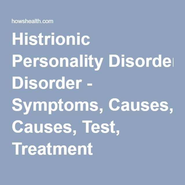 histrionic personality Histrionic personality disorder is a psychological illness that is characterized by deeply embedded patterns of attention-seeking behavior and emotions with histrionic personality disorder, an individual tends to be extremely concerned with attracting the attention of others.