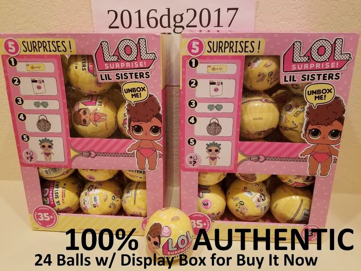 WHOLE BOX LOL Surprise Doll CONFETTI POP SERIES 3 LIL SIS SISTERS - L.O.L. Ball #MGA #lol #lolzonline #lolconfettipop #lollilsis