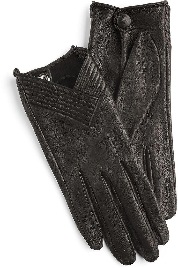 Emporio Armani Leder-Handschuhe