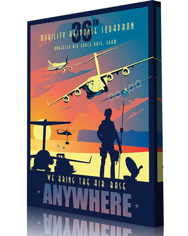 Anderson Afb Guam 36th Mobility Response Squadron Aviation Posters No Response Guam