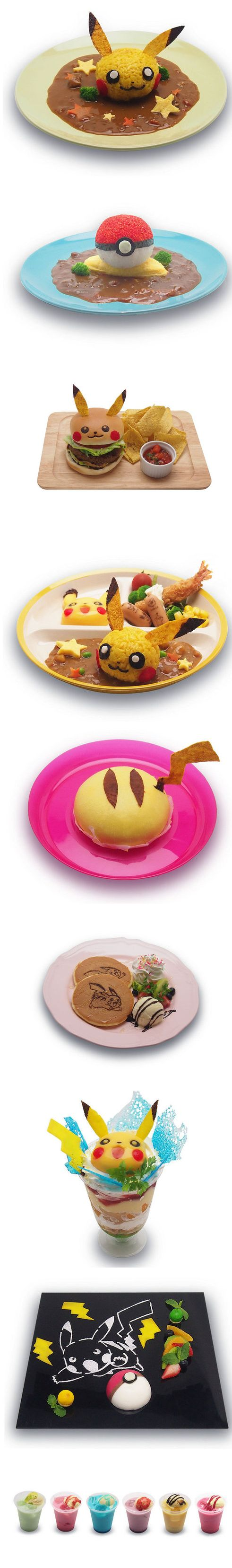 Ahh!So cute!!!! I've seen these dishes in the Pikachu cafe in Japan, the cafewas only there for a limited time though :(