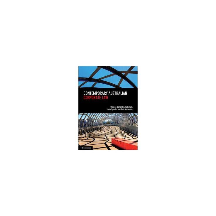 Contemporary Australian Corporate Law (Paperback) (Stephen Bottomley & Katherine Hall & Peta Spender &