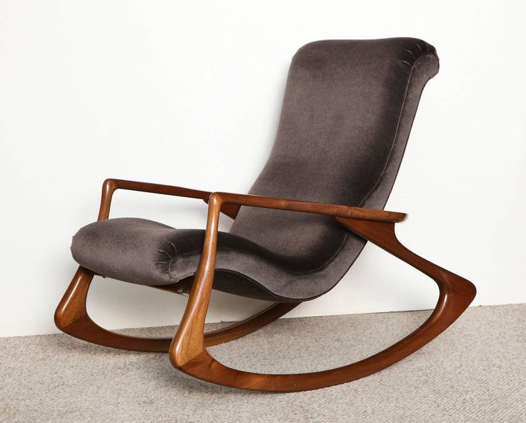 Contour Rocking Chair by Vladimir Kagan | From a unique collection of antique and modern rocking chairs at https://www.1stdibs.com/furniture/seating/rocking-chairs/
