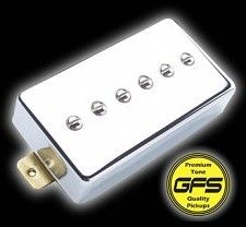 Mean 90- True Alnico  P90 Pickup in Humbucker Case, Our FATTEST Pickup