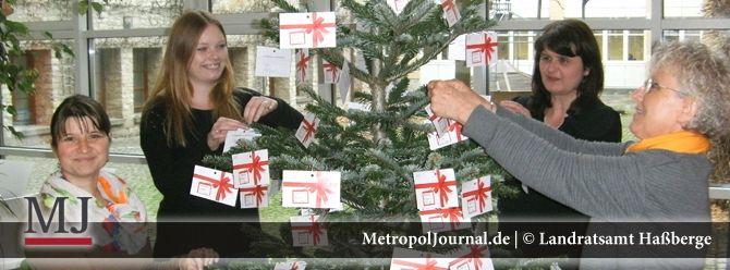 (HAS) Start der Aktion Weihnachts-Wunschbaum im Landkreis Haßberge - http://metropoljournal.de/weihnachtsmaerkte-in-der-metropolregion/start-der-aktion-weihnachts-wunschbaum-im-landkreis-hassberge/