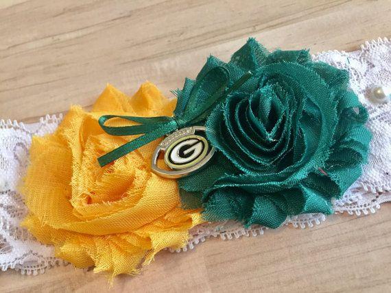 Green Bay Packers Wedding Garter / Packers Wedding Garter /