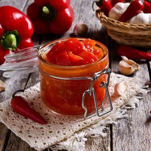 gegrillte Paprika – Pesto