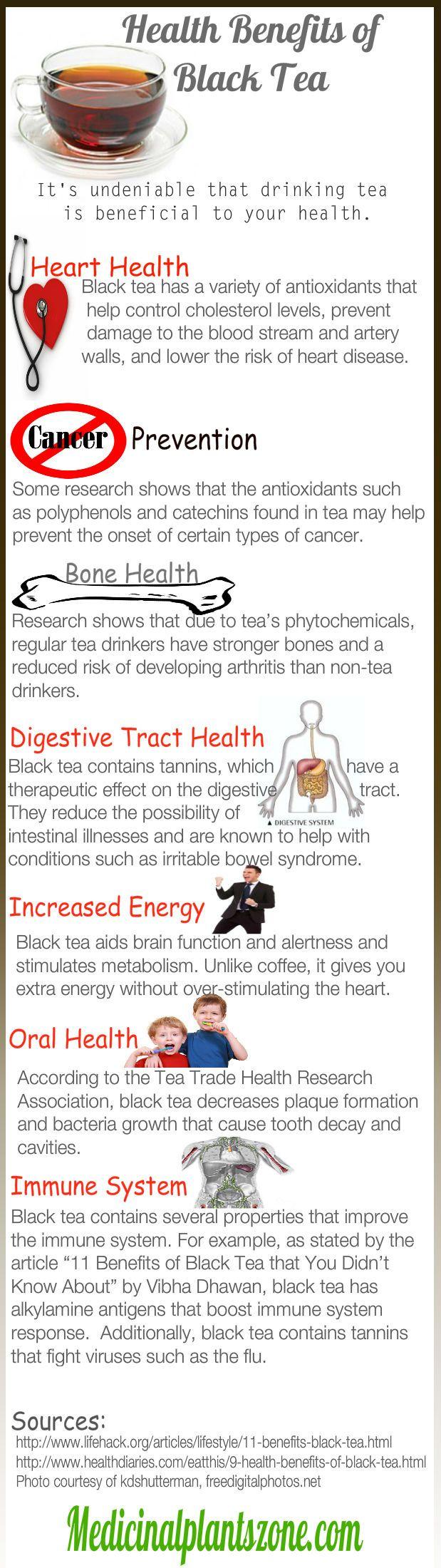 Health Benefits of Black Tea