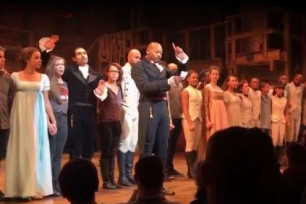 After curtain call Friday night, actor Brandon Victor Dixon addressed the Republican vice president-elect, saying the Broadway hit's multiracial and multicultural cast is concerned about the Trump administration.  The atmosphere was tense from the time Pence arrived at the Richard Rodgers Theatre, triggering both cheers and boos as he slipped into the prime orchestra seats.  The hit, which won 11 Tony Awards, has been praised by politicians and rap stars alike, influenced the debate over the…