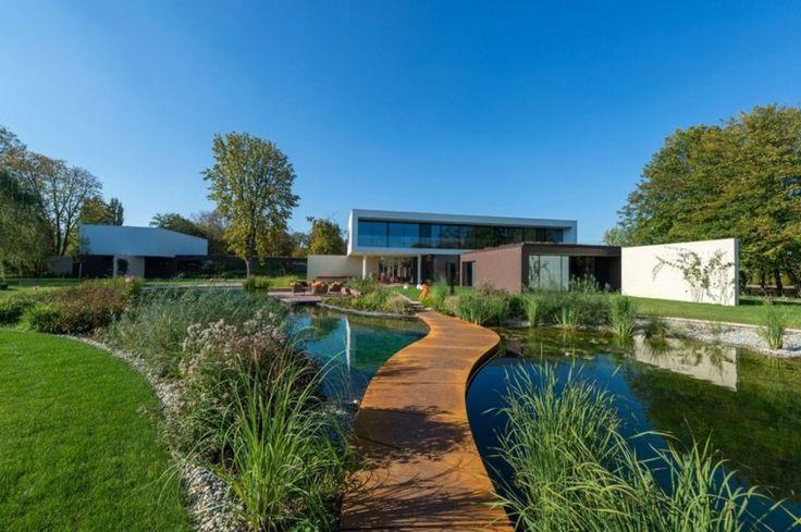 Jardines en Pinterest  Plantas y Jardín, Paisajismo moderno y Vías