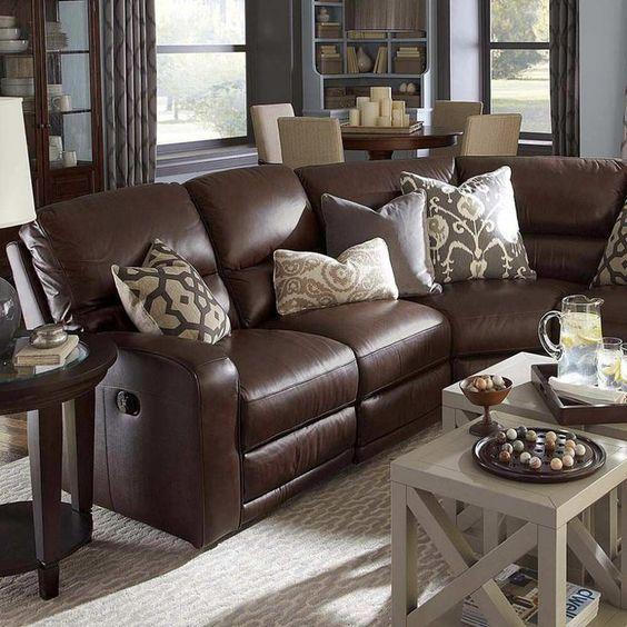 Decora tu sala con unos cojines para sillones cafe | Cojines
