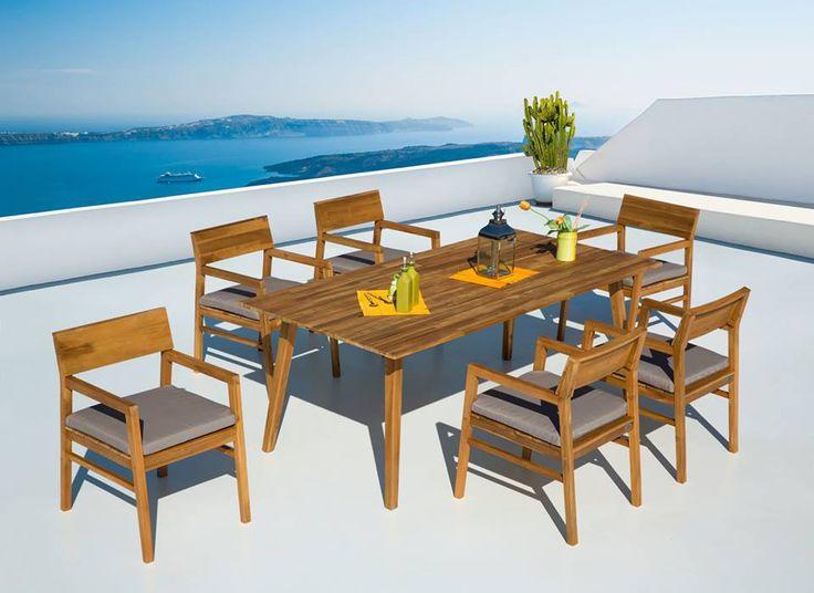 Tavolo e sedie giardino Setai - Tiki http://www.opend.it/shop/set-completi/set-giardino-setai_tiki/