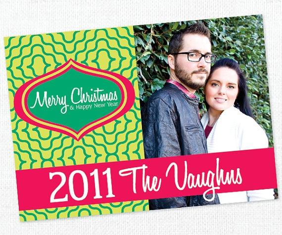An ornament Postcard!