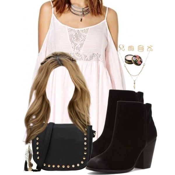 A fashion look from February 2017 featuring Report ankle booties, Call it SPRING shoulder bags e Charlotte Russe rings. Browse and shop related looks.