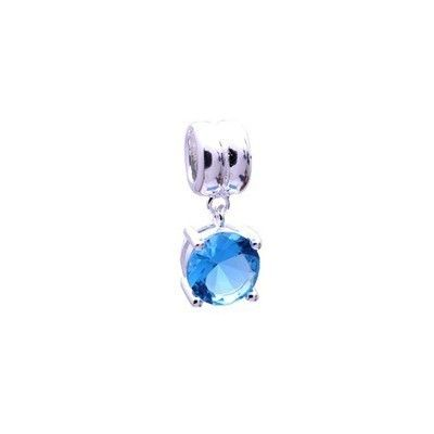 (Bleu Clair) Pandora Gems Et Argent Cristal Charms Prestigieux Pas Cher [8nLMA] - (Bleu Clair) Pandora Gems Et Argent Cristal Charms Prestigieux Pas Cher [8nLMA]-31