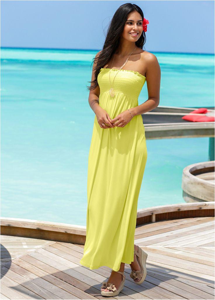 Maxikleid, mit Smock mittelfuchsia - BODYFLIRT jetzt im Online Shop von bonprix.de ab ? 16,99 bestellen. Sommerliches Jerseykleid in Maxilänge. Das Kleid ...