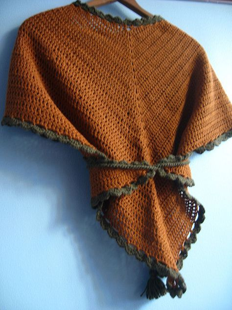 Ravelry: Crocheted Tess D'Urbervilles Shawl pattern by Kay Meadors