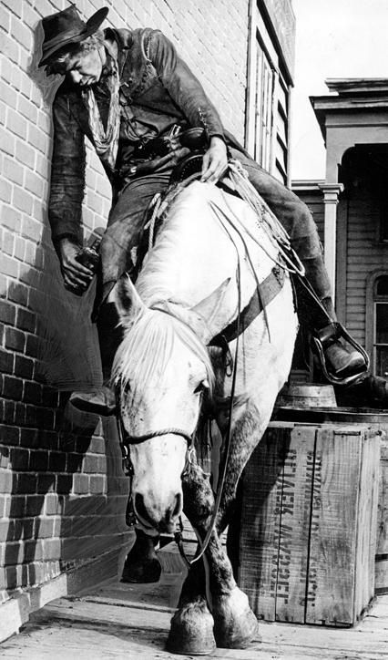 I believe that Lee Marvin admitted that this horse had a lot to do with him getting an Academy Award.  I always wanted this photo in poster form.(comment from   previous pinner)  I ALWAYS LOVED THIOS SCENE, NOW I HAVE IT