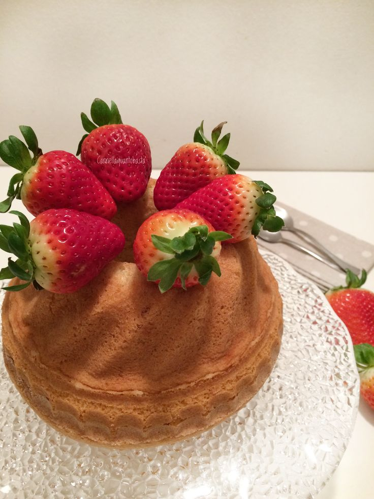 Chiffon cake da leccarsi i baffi!