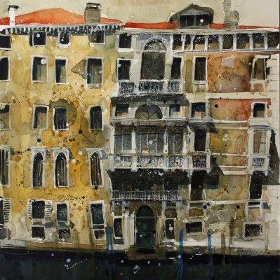 British Artist Susan BROWN - Treasures of a Decadent Past, Venice