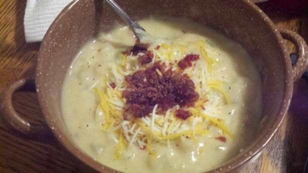 Super Easy Hash Browns Potato Soup
