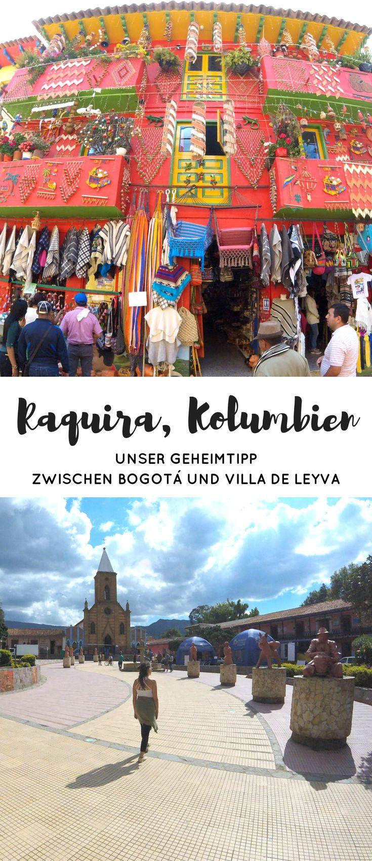 Raquira in Kolumbien ist ein farbenfrohes Städtchen zwischen Villa de Leyva und Bogota. Wir zeigen dir in unserem Reisebericht was du alles in der Töpferstadt erleben kannst und wie du hinkommst! #reisen #urlaub #kolumbien #backpacking #reisebericht