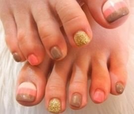 fall pedicure designs - Google Search