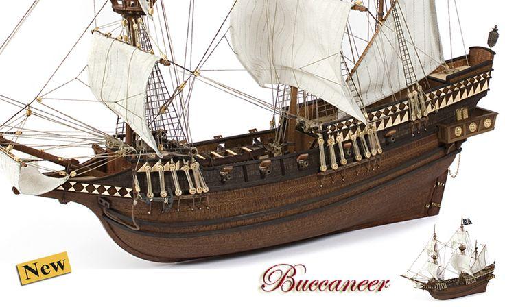 Modelismo naval de aventuras