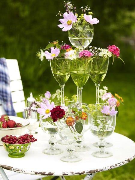 Wir feiern ein rauschendes Sommerfest mit Deko zum Selbermachen  WeddingDecoration  Sommer