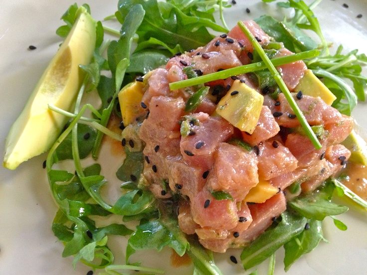 Tuna Tartare with Avocado and Lime | The Social Chef Recipes | Pinter ...