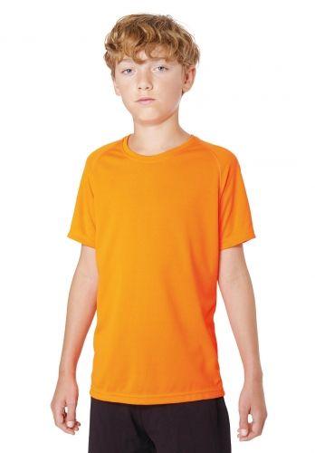 PROACT KIDS SHORT SLEEVE SPORTS T-SHIRT FLUORESCENT
