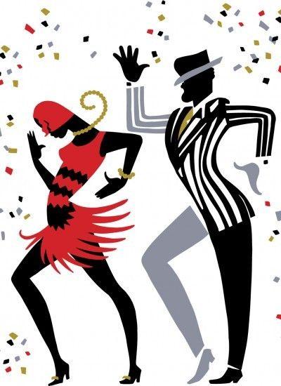 Les 147 meilleures images propos de dessins sur musique - Musique danse de salon ...
