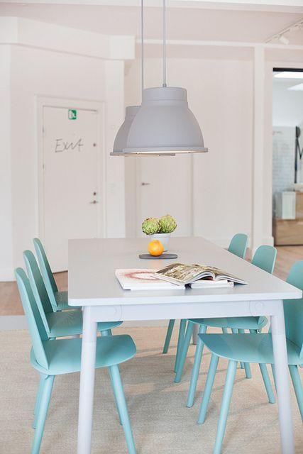 blue dining room #splendidspaces
