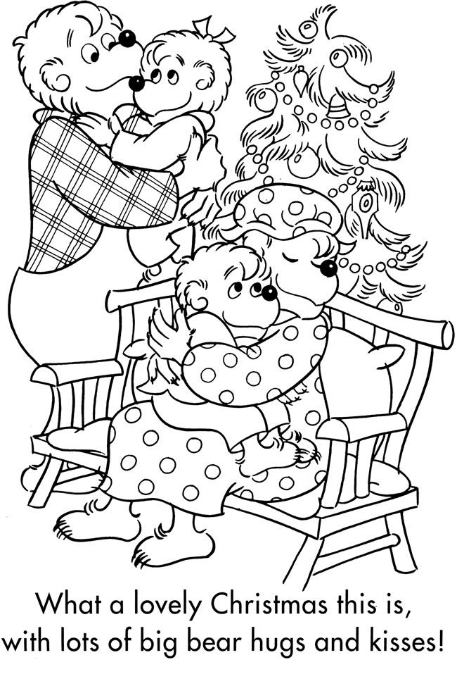 berenstein bears coloring pages | Welcome to Dover Publications / The Berenstain Bears ...