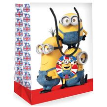 Minions Movie Medium Sized Gift Bag available direct from Publishers with Free UK Delivery at https://www.danilo.com/Shop/Cards-and-Wrap/Gift-Bags
