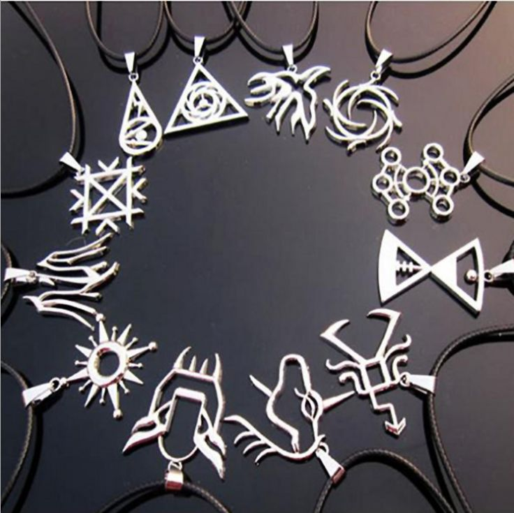 Exo symbols necklaces ♥
