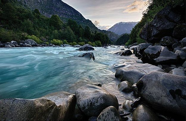 Chile- Futaleufu river
