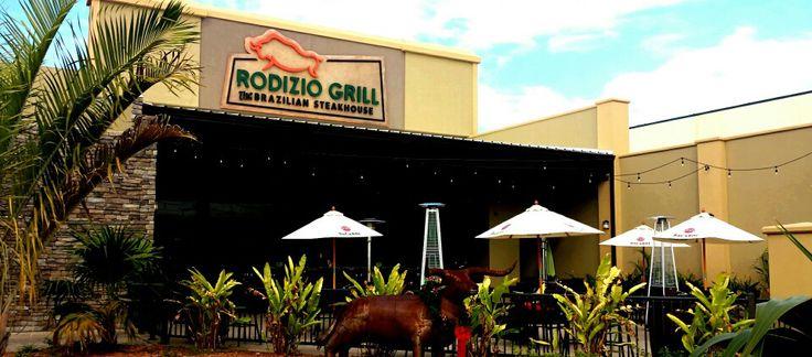 Rodizio Grill the Brazilian Steakhouse restaurant, located in Melbourne Square in Melbourne, Florida.